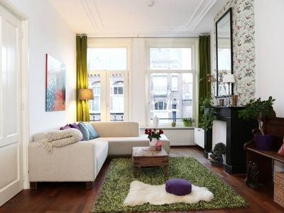 Photo for Lovely apartment near Vondelpark and museums