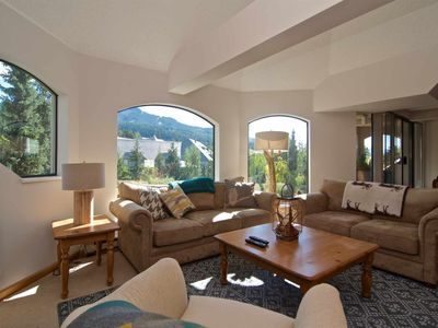 Photo for PENTHOUSE SUITE with LOFT. Mountain Side Property with SKI IN/SKI OUT Convienence