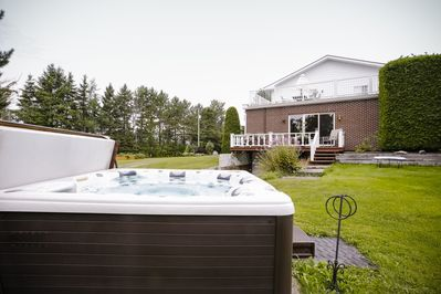 Hot tub available