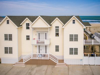 Photo for Oceans 11 | Oceanfront | Dog Friendly, Private Pool, Hot Tub
