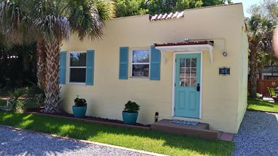 Photo for Vintage Cottage, 3 blocks to beach,1/2 block to shops/dining, offstreet parking