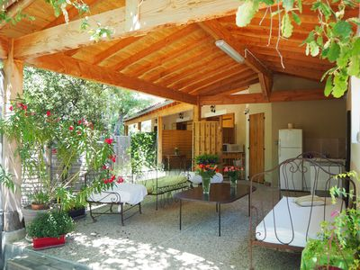 Photo for Charming studio for a Ventoux Escapade