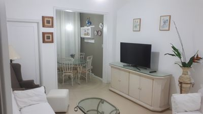 Photo for Copacabana Apartment 100 m2, Post 06, near Fort and Metro