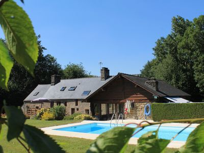 Photo for stay refreshing in a cottage in Suisse Normande with swimming pool