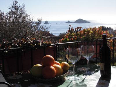 Photo for Vacation home situated at 450 mt from the Tancau Beaches.