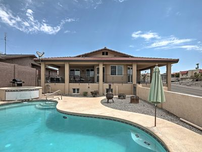 Photo for Gorgeous Hilltop Lake Havasu Home w/Private Pool