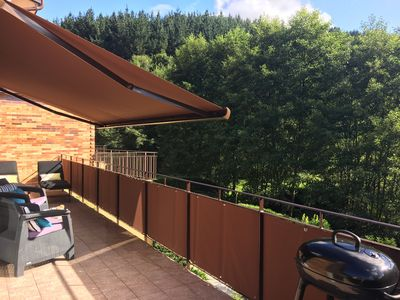 terrace with electric sunstore