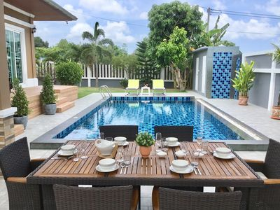 Photo for Bang Saray Luxury garden pool villa