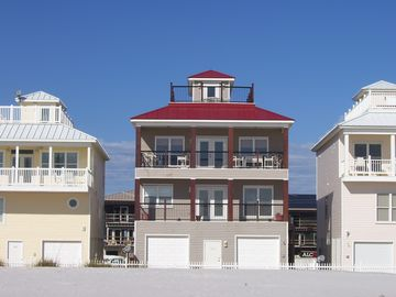 White Sands Cottages, Pensacola Beach, FL, USA