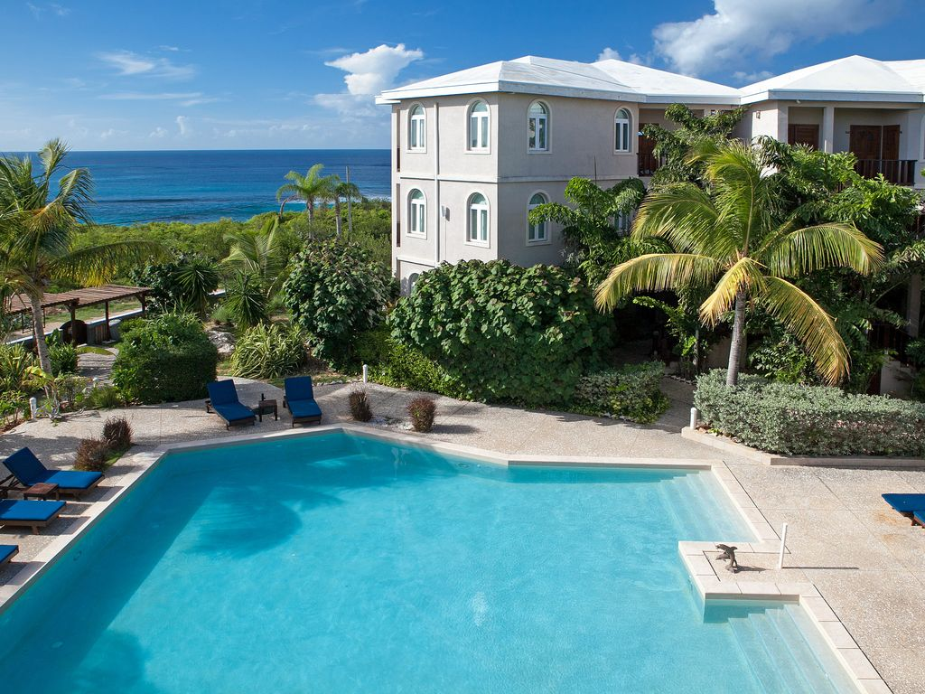 "Fountain Anguilla by ""Refined Retreats""~Lrg Studio~2 Qn Beds~Priv Terrace~250 Yrds to Beach"