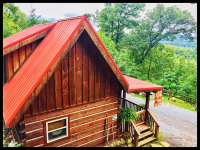 Photo for A true Log Cabin Retreat for any Adventure seeker