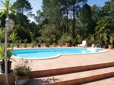 Photo for House Landes Sud Gironde SPA and PRIVATE PISCINE