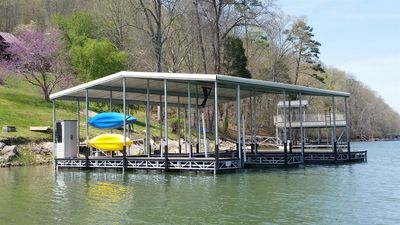 Private covered dock