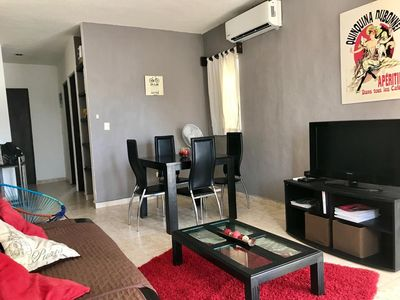 Photo for Cozy downtown appartment for up to 5 - 10 min walking to the beach