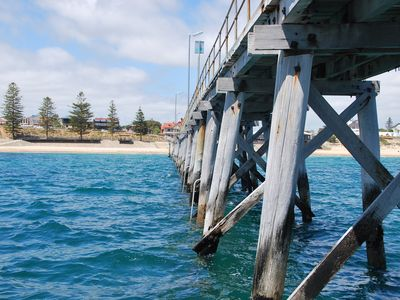 Photo for WATERFRONT Villa seaviews beachfront large Adelaide deluxe group accommodation