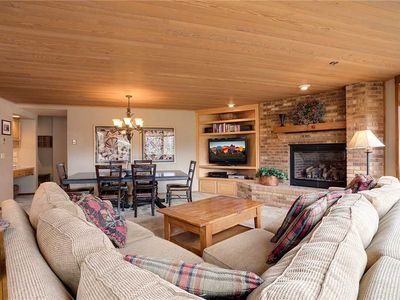 Photo for CX124 by Mountain Resorts: *Easy Walk out to Summer Activities *Pool & Hot Tub *