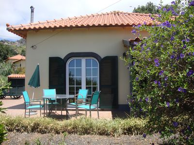"""Photo for MADEIRA WINE COTTAGE  """"MALMSEY"""" has sea view,  is near beautiful walking areas."""