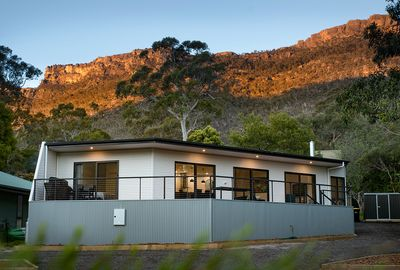 Golton in the Gap Grampians sunrise Halls Gap