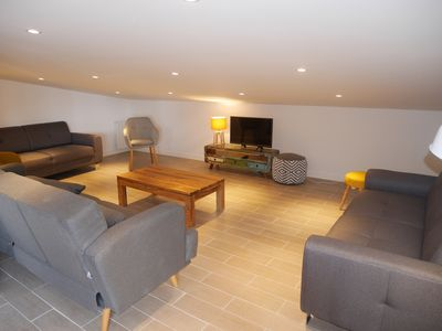 Photo for Beautiful new and modern apartment, center, ski start at 150m, 12 people
