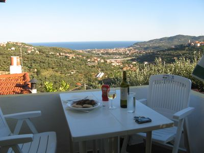 Photo for Holiday house in the olive grove with beautiful sea views