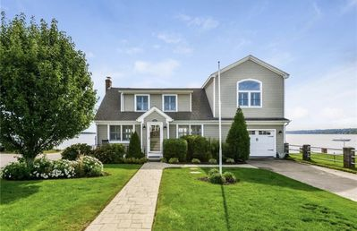 Photo for Waterfront beach house in the quaint Town of Portsmouth, Rhode Island