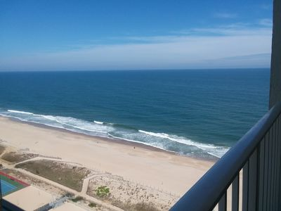 Photo for Welcome.  Oceanfront+ Bayview Condo- balcony,  steps to beach, family friendly