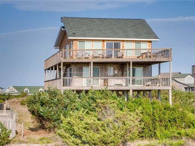 Photo for Spacious Oceanfront Home in Avon w/ Elevator, Hot Tub, Lush Views, Walk to Beach