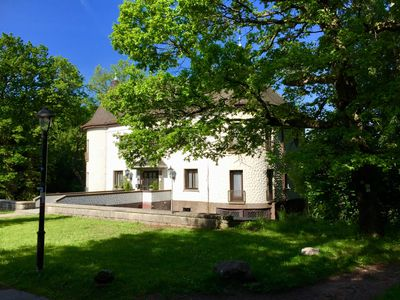 Photo for Villa Warzenburg, apartment 3 with view of the spa promenade and forest, incl. WIRELESS INTERNET ACCESS