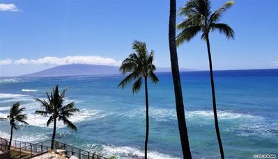 Photo for EXPANSIVE ocean views. Top floor, renovated. #407 at Hale Ono Loa Condos