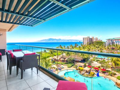 Photo for K B M Hawaii: Ocean Views, Most Stunning Views 3 Bedroom, FREE car! Aug & Oct Specials From only $479!