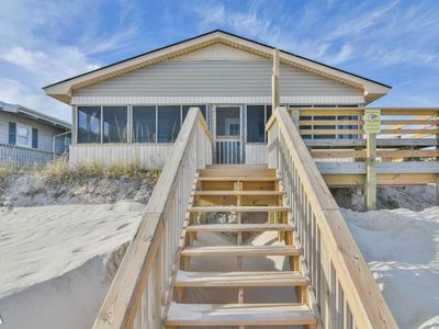 Photo for Tak It Ezy - SPRING SALE!! Renovated Oceanfront Home with Screened in Deck