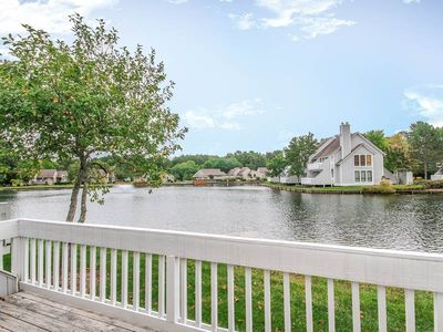 Photo for 5004F: MINI-WEEKS! Lakefront 2BR Sea COlony West condo! Beach, pools, tennis ...