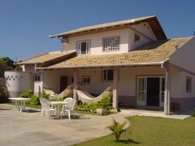 Photo for Beautiful beach house with SWIMMING POOL, 3 suites with air conditioning wi fi