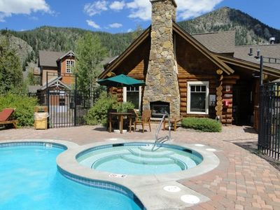 Photo for Luxury Town Home in East Keystone | Pool, Hot Tub, Billiards | Free Shuttle