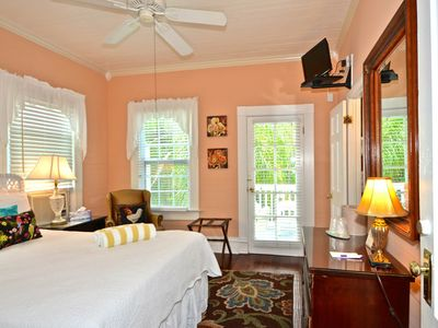 Photo for Charming, historic suite w/ semi-private balcony & shared pool - great location!