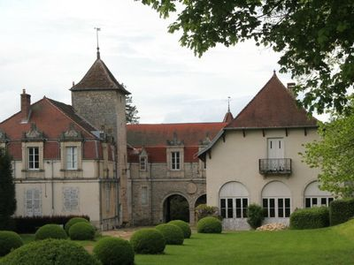 Photo for Charming XVIII/XIX C. Château in walled grounds