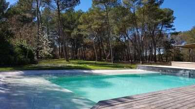 Photo for Luxury villa with pool, petanque and large garden