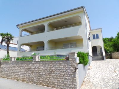 Photo for Holiday apartment in a quiet location with beautiful sea views