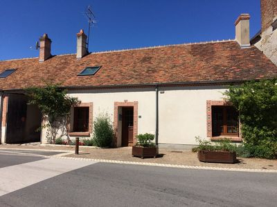 Photo for Gy en Sologne, Traditional Solognot Cottage In Village Centre