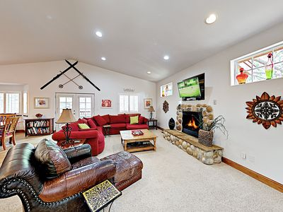 Photo for New Listing! Stylish Home w/ Hot Tub, 2 Living Rooms, Pool Table, Near Skiing