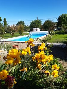 Photo for pretty house, with garden, pool, near the Gorges de l'Ardèche.