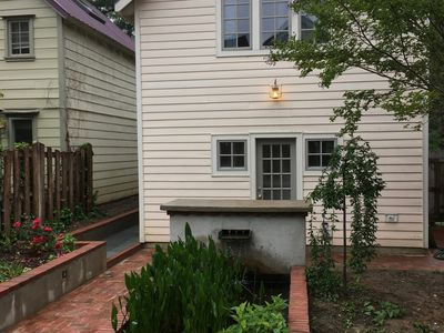 Photo for Cozy Carriage House, private with garden views