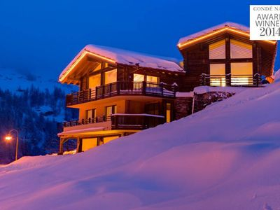 Photo for CHALET GRACE - CATERED 5 BEDROOM SKI CHALET - STAFF INCLUDED - Matterhorn Views
