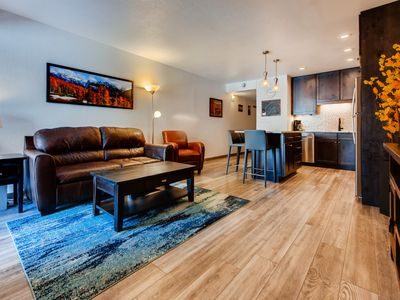 Photo for Newly Remodeled 2BR Frisco Condo. Onsite pool, 3 hot tubs & 5 blocks to Main St.
