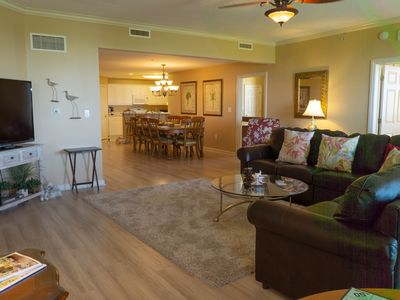 Photo for Steps to the Beach. Spacious and Comfortable. Perfect for Families or Groups.