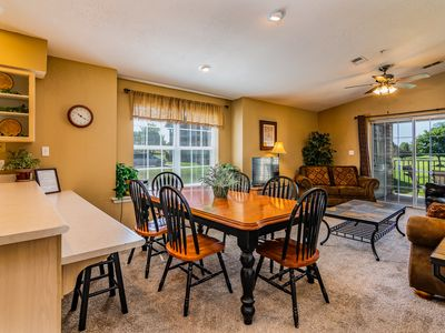 Photo for Great Family Condo with Golf View across from Indoor Pool - Updated Photos!