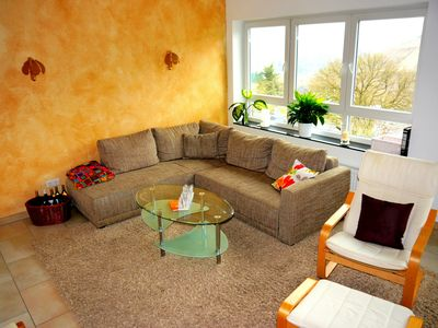 Photo for Comfortable, quiet apartment, Moselle view, Radgarage a. d.Mosel