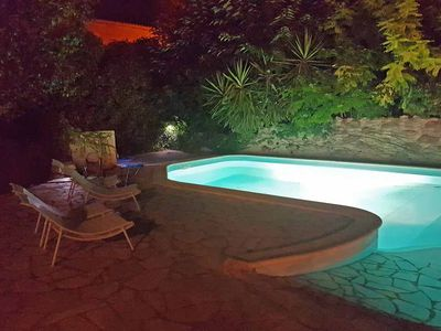 Photo for Manor House with private walled garden and pool