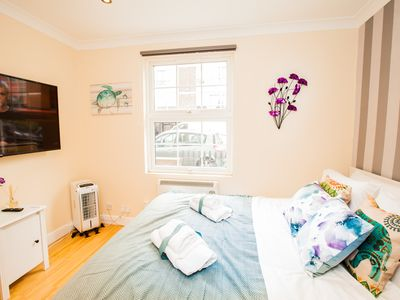 Photo for King Size  Bedroom , 1 bathroom, kitchen & Patio in Central London