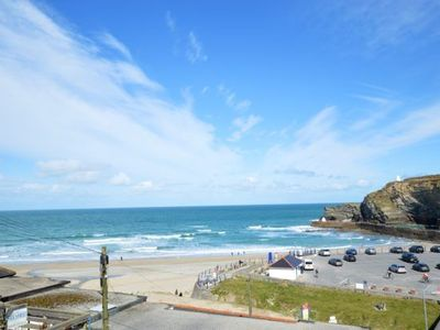 Photo for An exceptional four-storey townhouse overlooking Portreath's golden sandy beach.